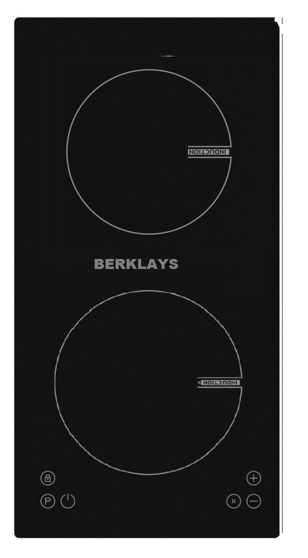Plaque à induction ou vitrocéramique 2 zones - Berklays